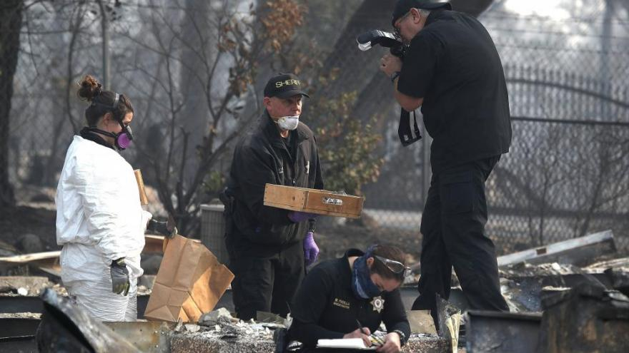 California wildfire rescue crews increase efforts ahead of rain; at least 77 dead