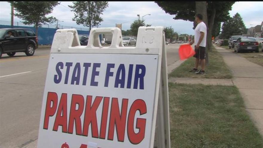 Parking and transportation at Wisconsin State Fair