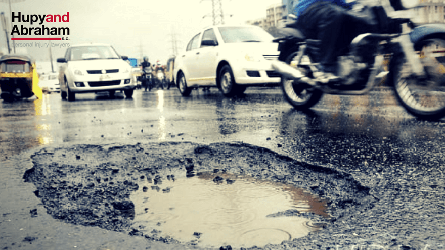 Motorcycle Accidents Caused by Poor Road Conditions