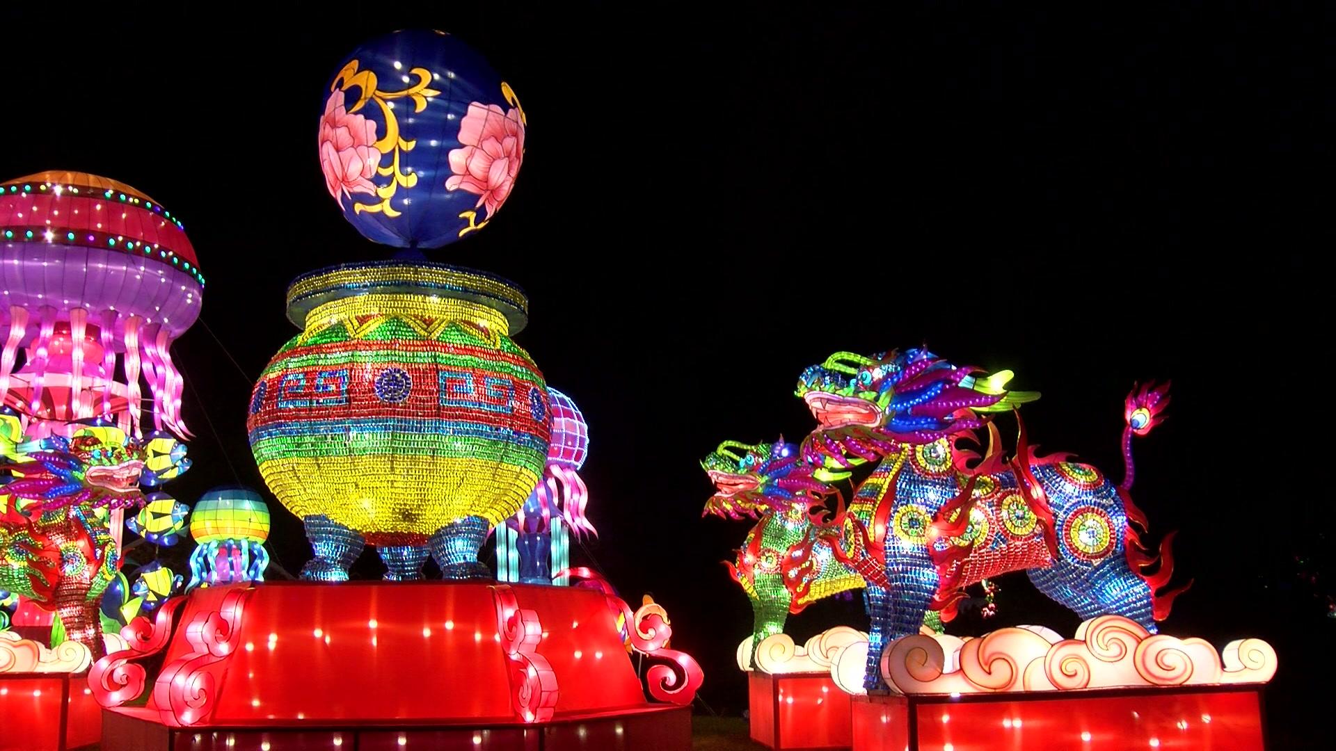China Lights Lantern Festival Extended Through Oct 28 At Boerner Botanical Gardens