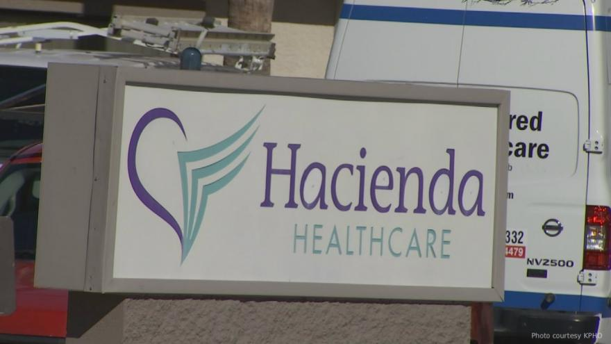 DNA search warrants served on male Hacienda Healthcare staffers