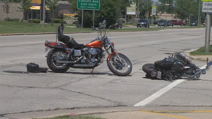 Three Injured In Motorcycle Accident In West Allis