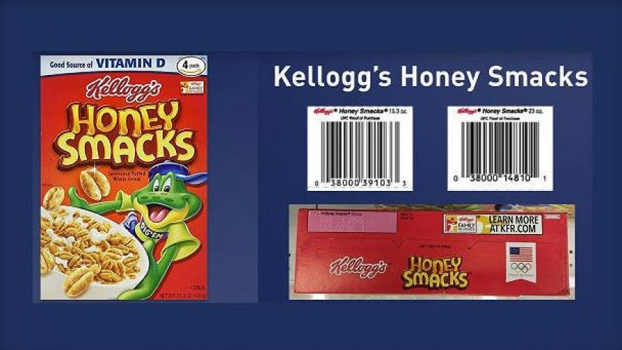 Kellogg's Honey Smacks cereal recalled over Salmonella concerns
