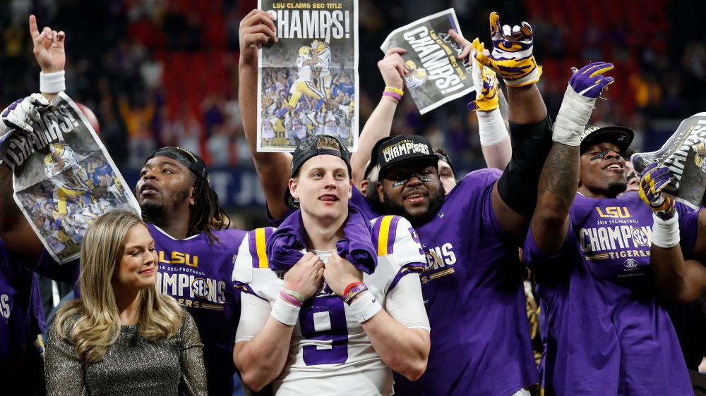 LSU, Ohio State, Clemson and Oklahoma will battle in the ...