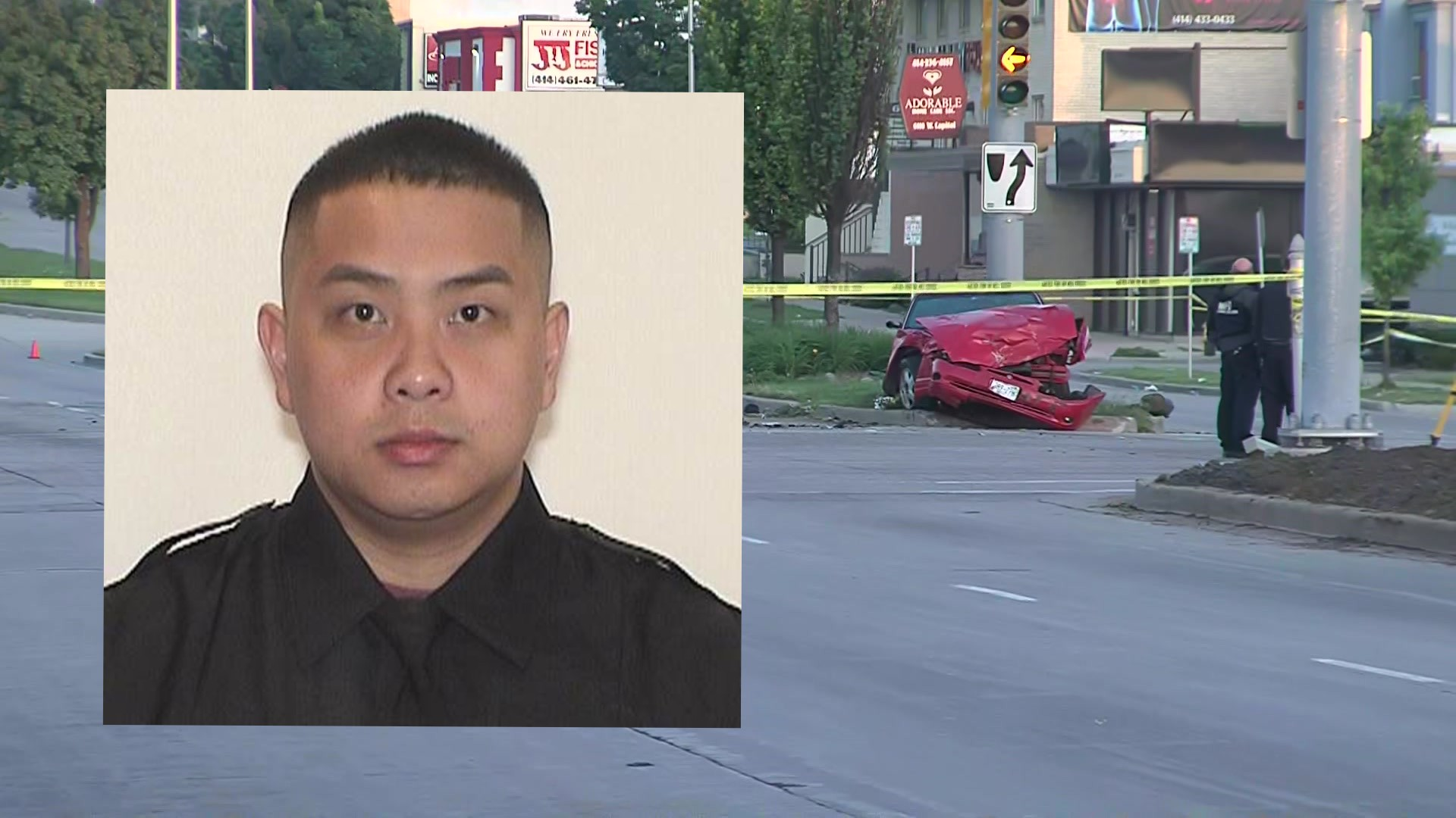 Milwaukee Police Officer hit, killed in crash on his way home from work