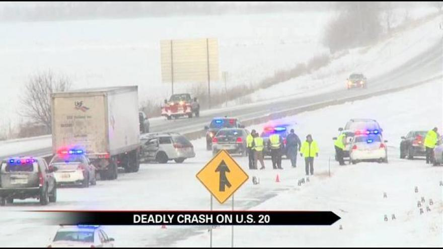Victim of deadly US20 accident identified