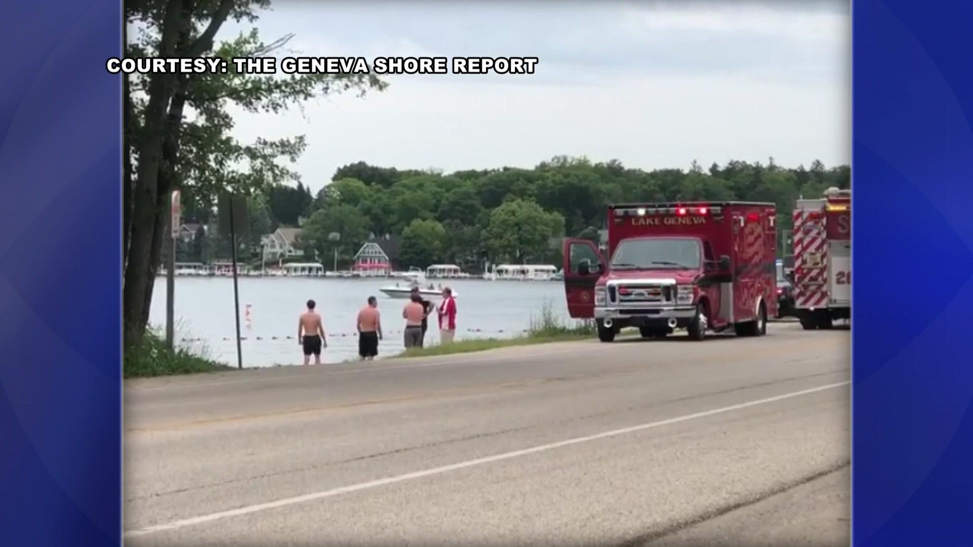 Tragic Fishing Accident In Lake Geneva >> Update 53 Year Old Man Drowns At Big Foot Beach In Lake Geneva