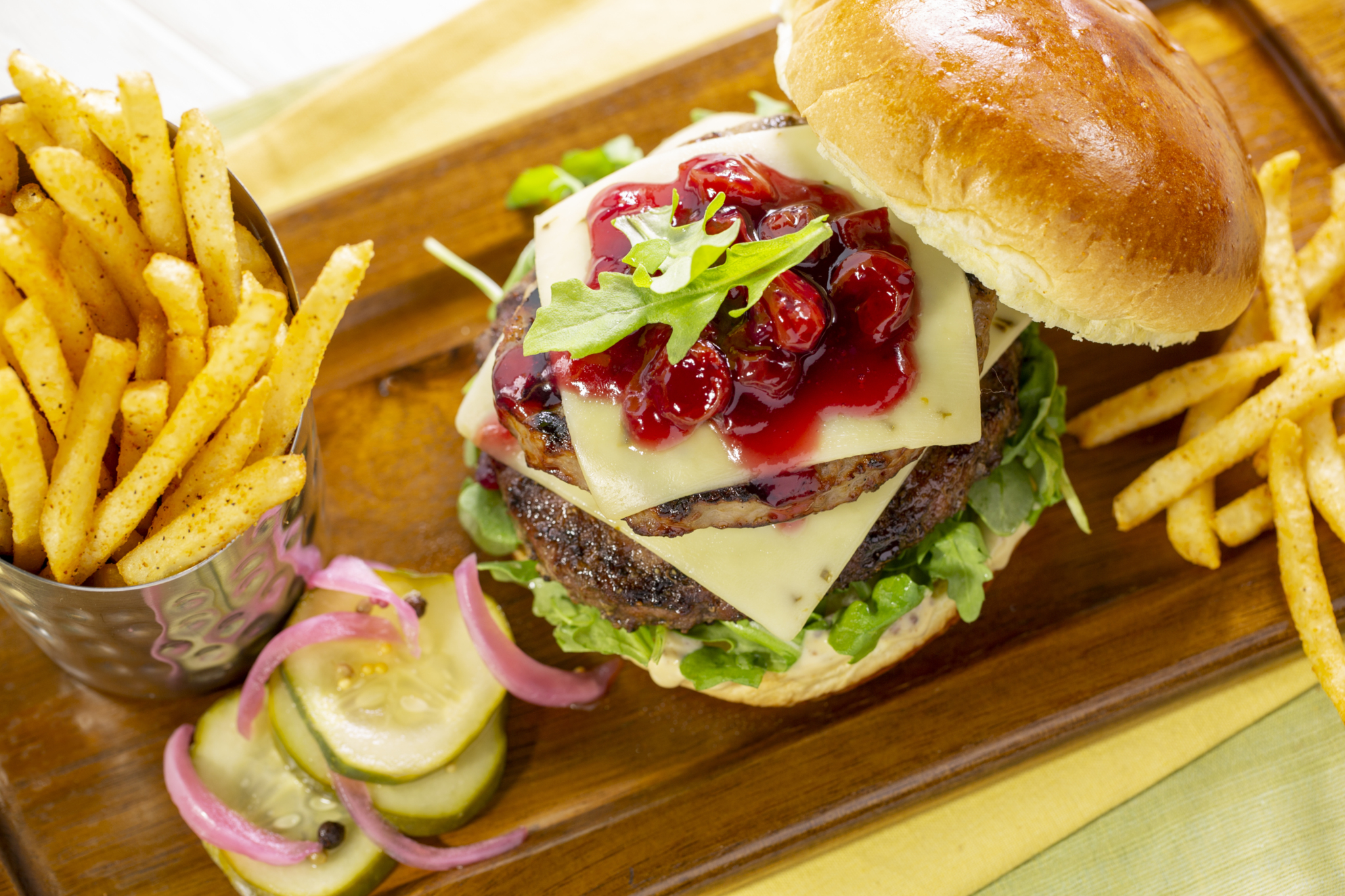 Restaurant To Be Named Later's 'Double Play Burger' by