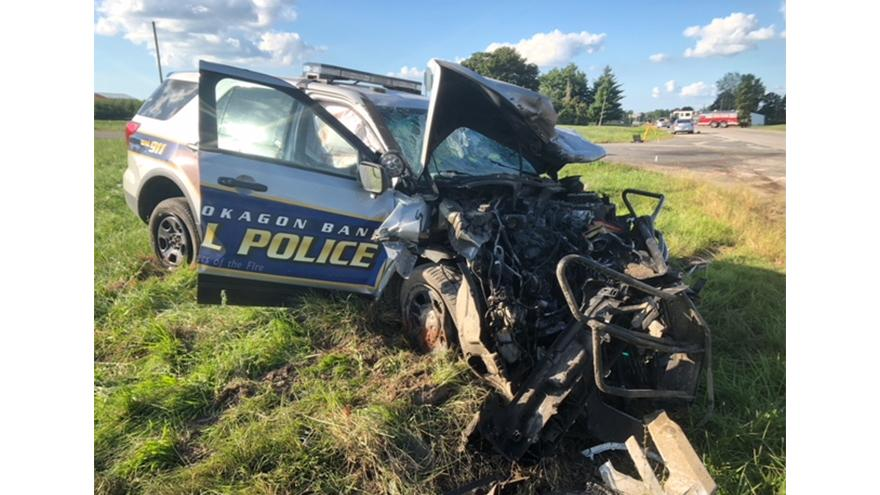 Driver dead after collision with a Pokagon Band Tribal
